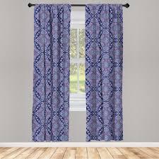gardine fensterbehandlungen 2 panel set für wohnzimmer schlafzimmer dekor abakuhaus orientalisch tribal kultur motive kaufen otto