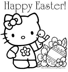 Preschool Easter Coloring Pages Christian Free Printable For Kindergarten Full Size