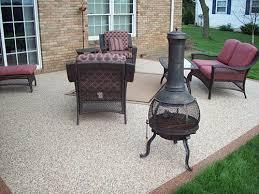 Outdoor patio stone flooring outdoor rubber flooring for decks