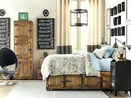 Industrial Bedroom Decor Rustic