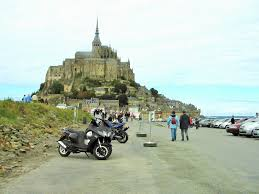 a headache at mont michel normandy then and now