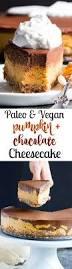 Pumpkin Layer Cheesecake by Chocolate Pumpkin Cashew Cheesecake Paleo Vegan No Bake The