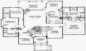 100 Floor Plans For Split Level Homes 4 Bedroom Plan Elegant Plan