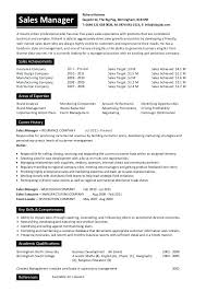 Curriculum Vitae Template University Application Sales Manager Sample For Students 1 Cv