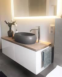 bathroom terrazzo sink ikea bestå hack kollekted auf