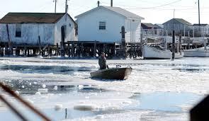 Sinking Islands Global Warming by Trump Advises Mayor Of Sinking Tangier Island