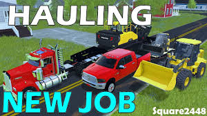 100 Hauling Jobs For Pickup Trucks Farming Simulator 17 Construction Equipment New Job