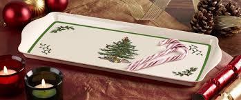 Spode Christmas Tree Platter by Spode Christmas Tree Sandwich Tray Spode Uk
