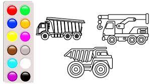 100 Construction Truck Coloring Pages Dump Luxury Dump And Crane