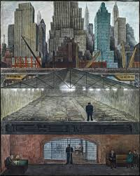 Diego Rivera Rockefeller Center Mural Controversy by Diego Rivera In Nyc