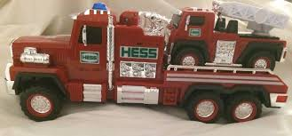 HESS 2015 HESS TOY TRUCK FIRE TRUCK AND LADDER RESCUE NIB | #1788119055