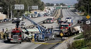 100 Truck Driving Schools In Los Angeles Driver Is Charged With 5 Deaths In Wreck On 10 Freeway Last