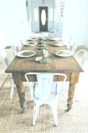 Dining Room Sets Farmhouse 0494a9d2261937a89a4a2316d9c5a0e2 Table White Chairs Metal Simple