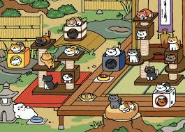 Janebtrox SOMEONE IN NEKO ATSUME REACHED 23 CATS TEACH ME