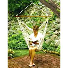 Home Depot Swing Seat Round Rope Chair Outdoor Patio Hanging Hammock Canopy For