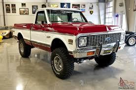 100 1972 Chevy Truck 4x4 Chevrolet C 10 4X4