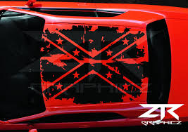 2008-2017 Dodge Challenger Distressed Confederate Flag Roof Decal ... Mud Slayer Rebel Flag Truck Tailgate Removal Ford Powerstroke Diesel Forum John Deere Truck With Rebel Flag Window Decals Shitty_car_mods Out Of The Wilderness Why Do People Fly Confederate Other Than To Show Scores Take Part In Rally Supporting Confederate Tbocom Seat Covers Flames Design Lets Print Big Custom And Comfortable Wrap Wraps Motsports Rebel Diesel
