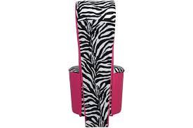 Oversized Saucer Chair Zebra Print by Furniture Artistic Living Room Furniture Design Ideas Using Black