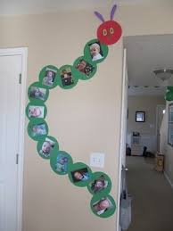 Caterpillar Classroom Wall Decoration Idea
