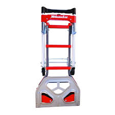 Milwaukee Folding Convertible 2 In 1 Up 300 LB Capacity Hand Dolly ... Amazoncom Milwaukee Hand Trucks 60137 4in1 Truck With 300 Lbs Capacity Truckhd250 The Home Depot 800 Lb Convertible Truckdc59480 600 2in1 Walmartcom Truck Wikipedia Top 10 Best Folding Reviewed In 2018 2in1 733 Do It 3500 Lb 30152 C0999 Extraordinary Replacement Wheels For Lebdcom Truck60610 Alinum With Reviews 2017 Research
