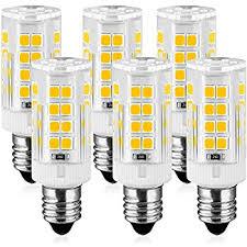 kindeep e11 led light bulb mini candelabra base ac 110v 130 volt