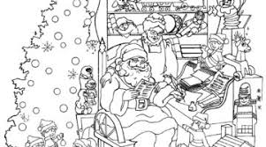 Printable Intricate Christmas Coloring Pages