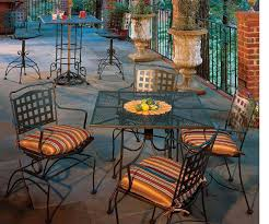 Meadowcraft Patio Furniture Dealers by 50 Off Meadowcraft Vera Cruz Dining Set Wrought Iron Patio