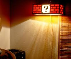 Mario Bros Question Block Lamp by Mario Shut Up And Take My Money