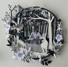 Another Stunning Vision In 3D Papercraft With Clean Lines And Lots Of Details To Discover