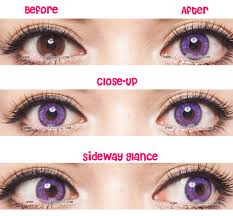 Prescription Contacts Halloween Uk by Gbt Violet Circle Lenses Colored Contacts Pinkyparadise