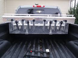 Truck Bed Toolbox Rod Rack - The Hull Truth - Boating And Fishing ... Rod Rack For Tacoma Rails The Hull Truth Boating And Fishing Forum Corpusfishingcom View Topic Truck Tool Box With Rod Holder Just Made A Rack The Bed World Building Bed Holder Youtube Bloodydecks Roof Brackets With Custom Tundratalknet Toyota Tundra Discussion Ive Been Thking About Fabricating Simple My Truck Diy Rail Page 3 New Jersey Surftalk Antique Metal Frame Kits Tips For Buying Best 2015 Ford F150 Xlt 2x4