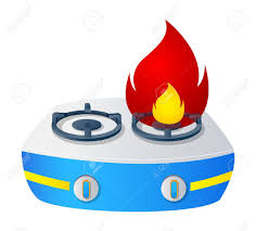 Stove Fire Clipart 1