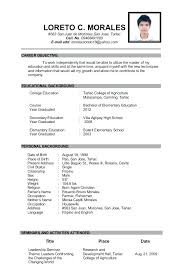 Sample Resumes For T Nice Resume Teachers Best Examples