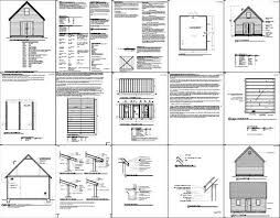 Shed Plans 16x20 Free by Free 16 20 Shed Plans Pdf Free Online Garage Plans Shed4plans Diypdf