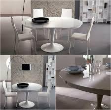 runde esstische als design highlight modern und ausziehbar