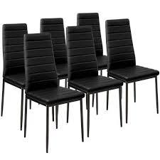 2 esszimmerstühle kunstleder schwarz esszimmerstühle