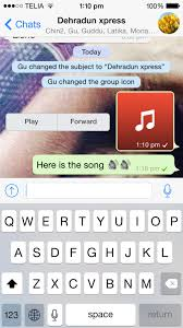 How to send music files through WhatsApp on iPhone