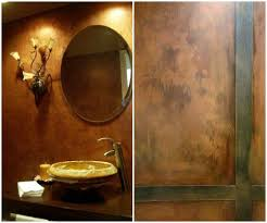 copper metallic paint modern masters cafe
