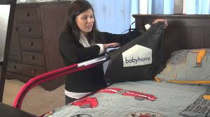 babyhome side light bed rail review by baby gizmo youtube