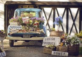 Vintage Truck Farm Inspired Wedding