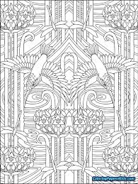 Cool Abstract Coloring Pages For Teenagers Difficult