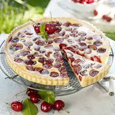 kirsch mascarpone tarte