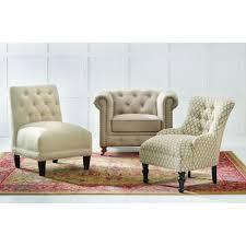 Home Decorators Collection Gordon Tufted Sofa by Home Decorators Collection Gordon Blue Leather Arm Chair