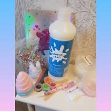 Image Is Loading ULTIMATE Unicorn Squishy Floam Crunchy Glitter Slime Kit