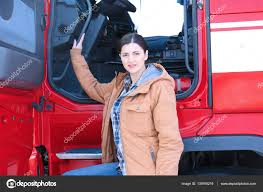 Female Driver Near Big Truck — Stock Photo © Belchonock #139765216 Women Truckers Network Replay Archives Real In Trucking Meet The Truckdriving Mom In A Business With Hardly Any Road To Zero Coalition Charts Ambitious Goal Reduce Traffic Posts By Rowan Van Tonder Transcourt Inc Industry Faces Labour Shortage As It Struggles Attract Nicole Johnson Monster Truck Driver Wikipedia Female Waiting For Loading Stock Photo Katy89 Driver Receives New Accidentfree Record Truck Using Radio Cab Closeup Getty Harassment Drivers Face And Tg Stegall Co Plenty Of Opportunity