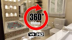 Master Bathroom Design Rendering