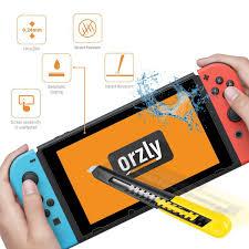 Screen Protector Nintendo Switch Orzly Premium Amazon Electronics