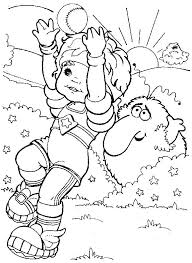 Rainbow Bright Coloring Pages Color Unicorn Kids