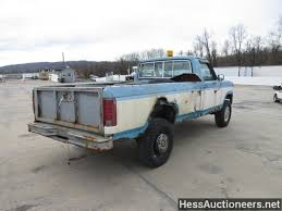 USED 1980 FORD F250 2WD 3/4 TON PICKUP TRUCK FOR SALE IN PA #22278