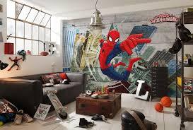 Superhero Bedroom Decor Uk by Spiderman Superhero Wall Mural Marvel